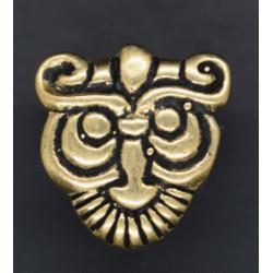 Viking pyntenitte med ansigt