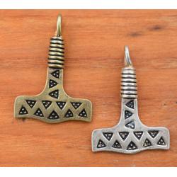 Viking hammer til halskæde fra fund på Falster