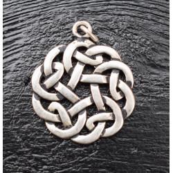 Keltisk knude rund vedhæng