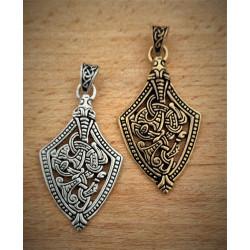 Vedhæng baseret på ende til sværdskede fra Norge - Se vores historiske smykker,