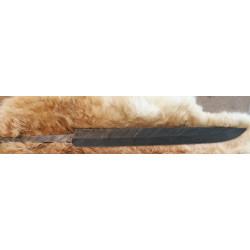Kniv klinge Gotland seax -...