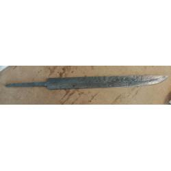 Kniv klinge Birka seax -...