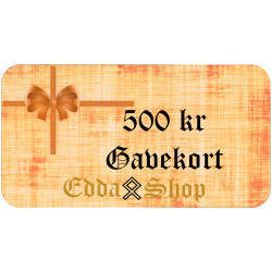 Gavekort 500 kr
