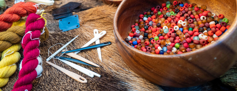 Udstyr til vikinge håndværk